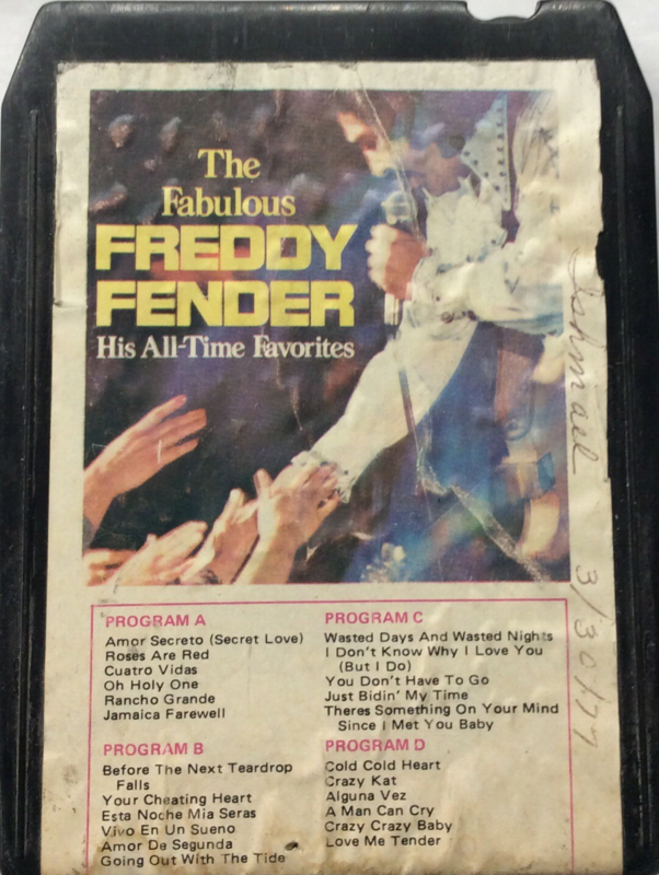 the Fabulous Freddy Fender - His all-time favorites