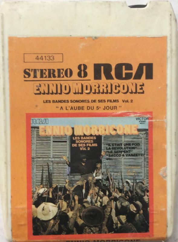 Ennio Morricone - Les bandes sonores de ses films VOL 2 - RCA 44133