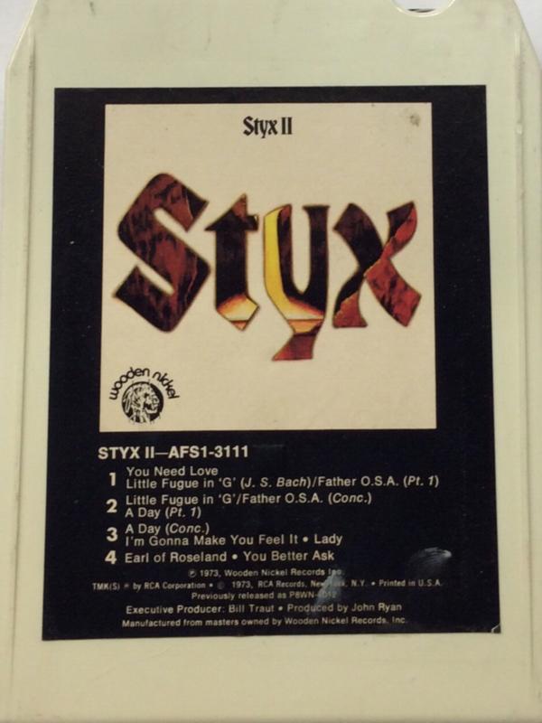 Styx - Styx II - AFS1-3111