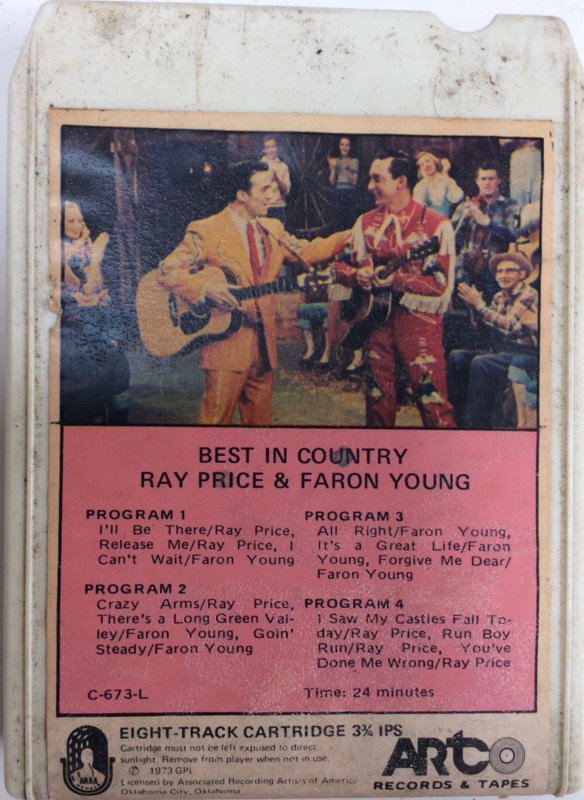 Ray  Price & Faron Young - Best in Country - ARCO C-673-L