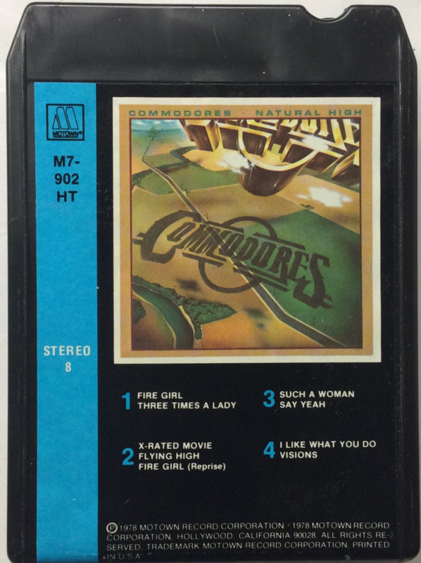 Commodores - Natural High - Motown M7-902 HT