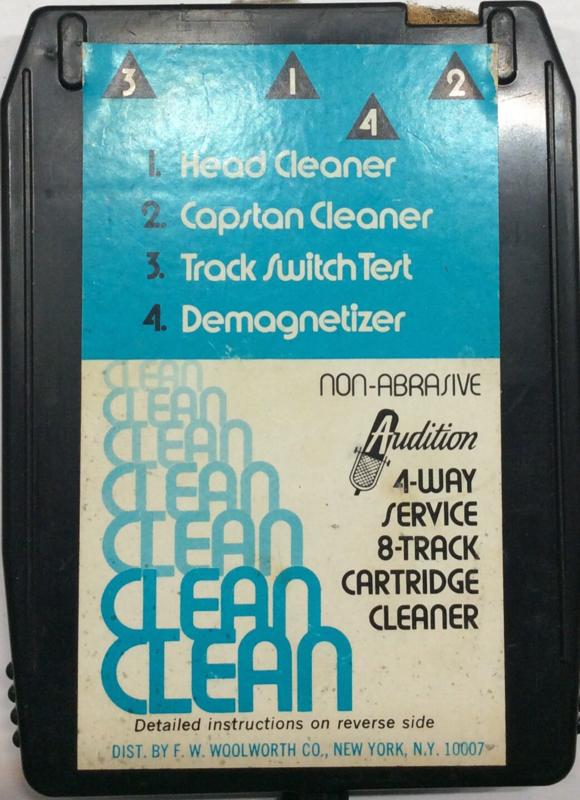 Tape Head Cleaning Cartridge 8-tracks