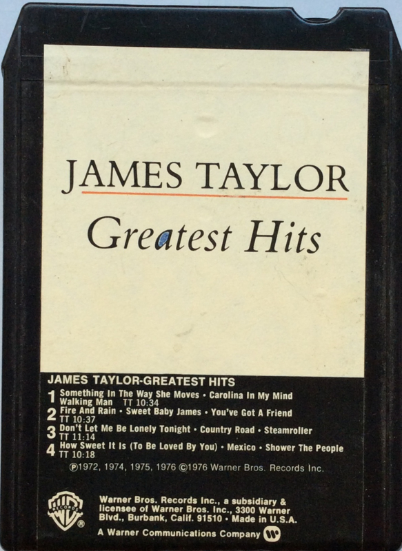 James Taylor - Greatest Hits - WB M8 2979