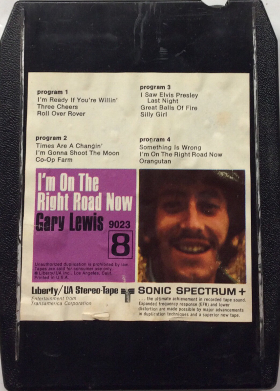 Gary Lewis - I'm on the right road now - Liberty 9023