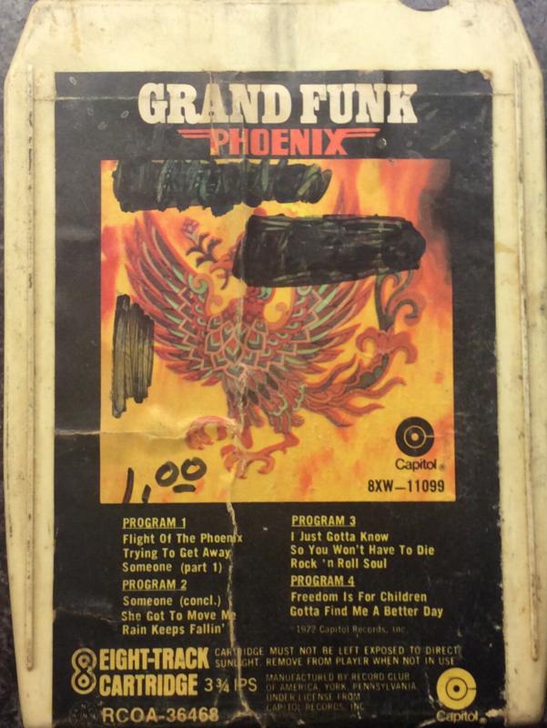 Grand Funk - Phoenix - Capitol RCOA-36468