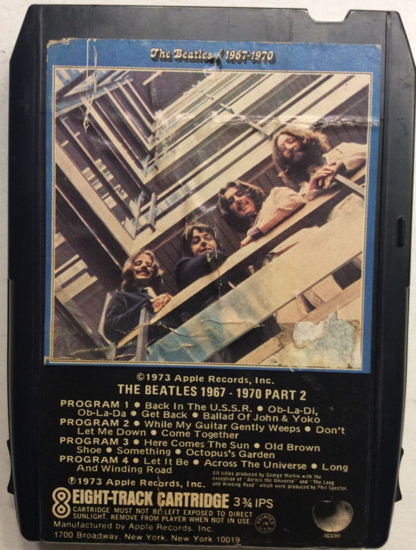 Beatles  1967 - 1970 part 2  8XK 3408