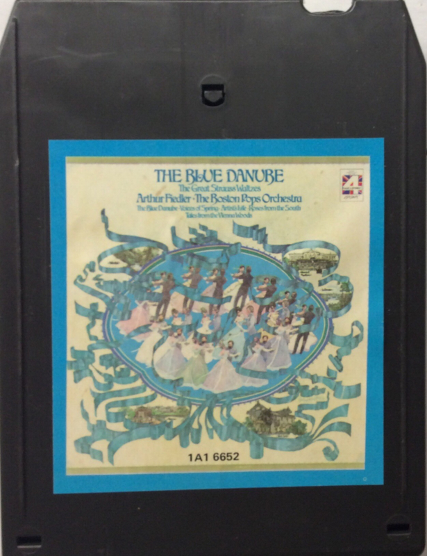 Arthur Fiedler / Boston Pops Orchestra - Great Strauss Waltzes Blue Danube - CRC 1A1 6652
