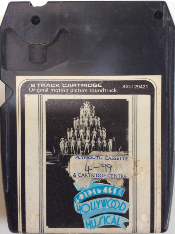 Original Motion Picture soundtrack -  The golden Age of the Hollywood musical - 8XU 29421
