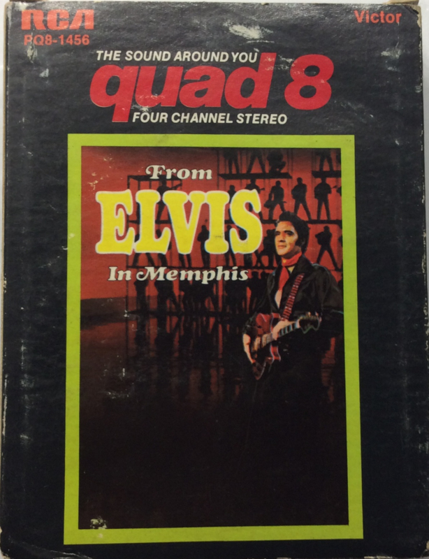 Elvis Presley - From elvis in Memphis -  RCA PQ8-1456 Quadraphonic