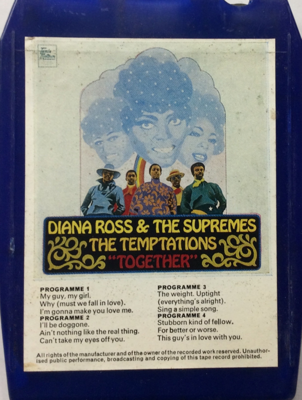 Diana Ross & The Supremes & The Temptations Together - Tamla Motown 8X-STML 11122