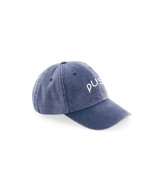 PUSH - Washed 6panel navy