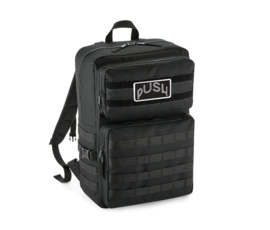 PUSH - Army Backpack Black