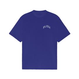 PUSH - Tee Royal Blue
