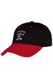Thrasher Gonz Old Timer Cap - Black/Red