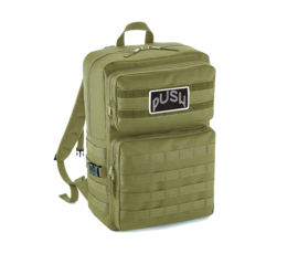 PUSH - Army Backpack Green