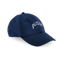 PUSH - Dad Cap Navy Ripstop