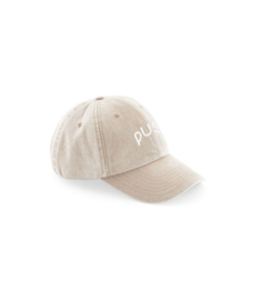 PUSH - Washed 6panel beige