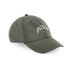 PUSH - Dad Cap Green Ripstop
