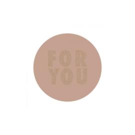 Sticker For you (set van 2)