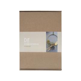 DIY Droogbloemenkrans (naturel)