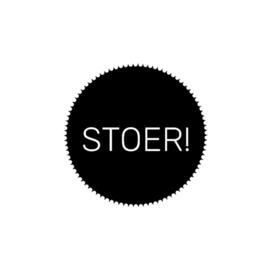 Sticker stoer! (set van 2)