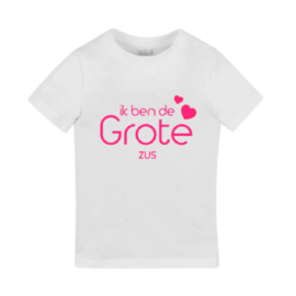 Extra shirt (kindermaat)