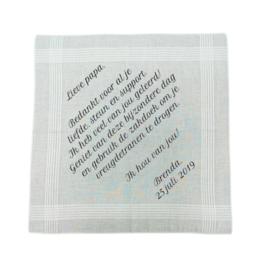 Huwelijks-zakdoeken (set van 2)