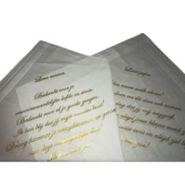 Inspiratie-artikel: Huwelijks-zakdoeken voor pap en mam