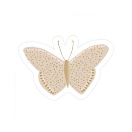 Sticker Vlinder (set van 2)