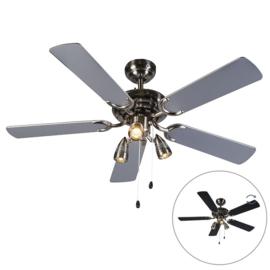 Plafond ventilator Mistral 42, grijs