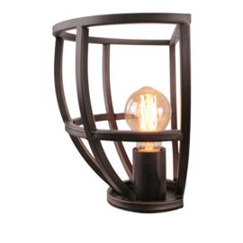 Wandlamp Birdie, zwart
