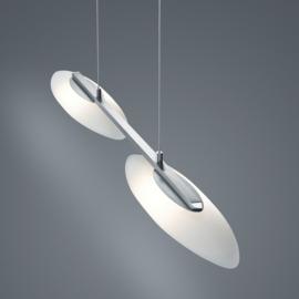 Hanglamp Sally led, nikkel