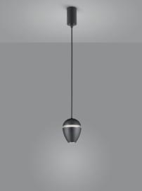 Hanglamp Redo led, 1-lichts zwart