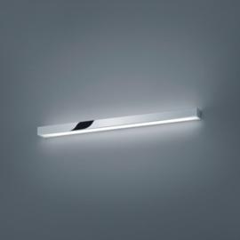 Wandlamp Theia led, chroom met acryl glas 90 cm