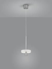 Hanglamp Kea led, 1-lichts nikkel