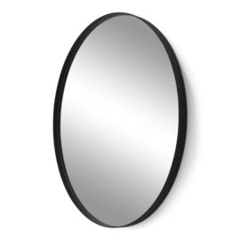 Spiegel Donna Oval, zwart