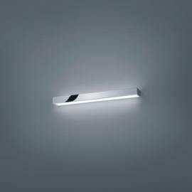 Wandlamp Theia led, chroom met acryl glas 60 cm