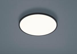 Plafondlamp Rack led, rond zwart