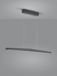 Hanglamp Möwe led, zwart