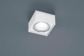 Plafondlamp Kari led, vierkant wit
