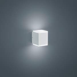 Buitenlamp Kibo led, mat wit IP54