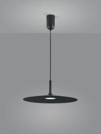 Hanglamp Gyra led, zwart