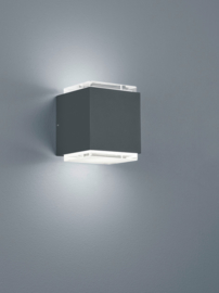 Buitenlamp Isy led, grafit IP54