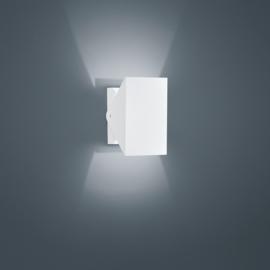 Buitenlamp Free led, mat wit IP54