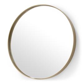 Spiegel Donna 5, gepoedercoat goud 90 cm