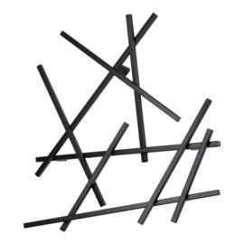 Kapstok Matches XS, zwart
