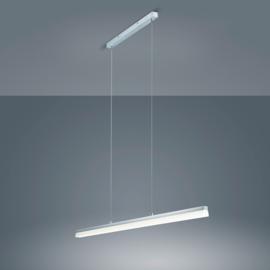 Hanglamp Moya led, nikkel