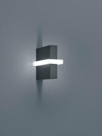 Buitenlamp Oki led, graphit IP54
