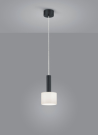 Hanglamp Gain, 1-lichts zwart