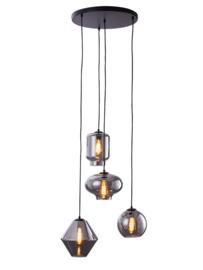 Hanglamp Brady, 4 lichts